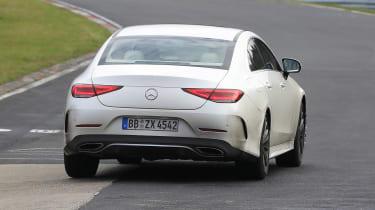 Mercedes CLS - spyshot 10