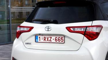 Toyota Yaris - rear detail