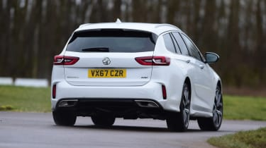 Vauxhall Insignia Sports Tourer GSi - rear action
