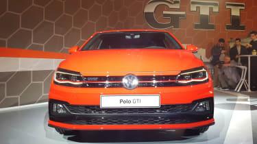 Volkswagen Polo GTI - reveal full front