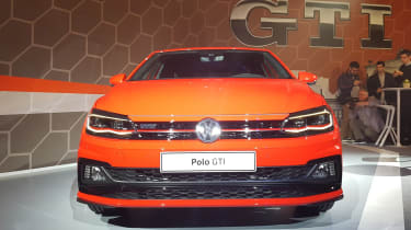 Volkswagen Polo GTI - reveal full front
