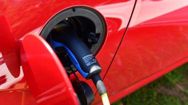 Volvo XC90 long-term test - charging port
