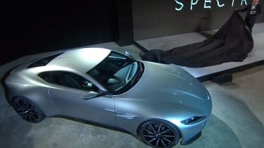 New Aston Martin DB10 revealed as next Bond car