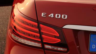 Mercedes E400 Cabriolet badge