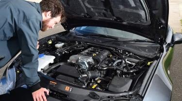 Mazda MX-5 RF - engine