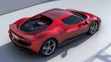 Ferrari 296 GTB - above