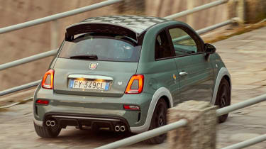 Abarth 695 70th Anniversario - rear action