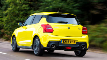 Suzuki Swift Sport long-term test - Motion Rear