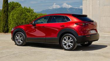 Mazda CX-30 SkyActiv-X - rear static