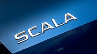 Skoda Scala - badge