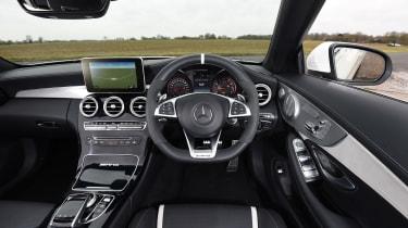 Mercedes-AMG C 63 Cabriolet 2017 - interior