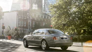 Rolls-Royce Ghost rear - Footballers' cars
