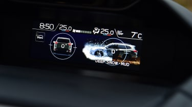 Subaru Forester 2020 in-depth review - instrument