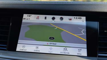 Vauxhall Insignia Grand Sport 2017 1.5 Turbo map