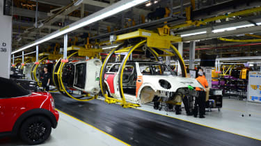 MINI factory tour - production line