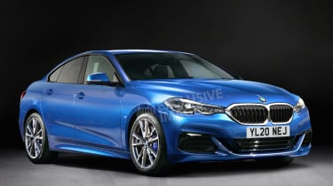 BMW 2 Series Gran Coupe - front (watermarked)
