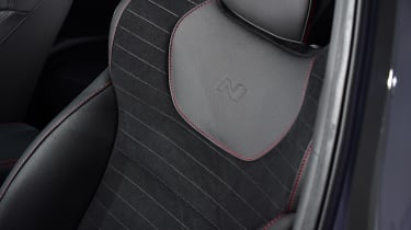 Hyundai i30 Fastback N - seats