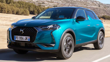 DS 3 Crossback - front tracking