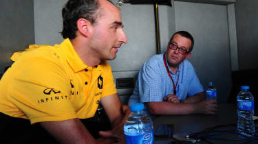 Robert Kubica - Goodwood Festival of Speed Q&A