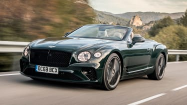 Bentley Continental GT Convertible - front