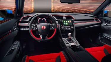 Honda Civic Type R GT - dash