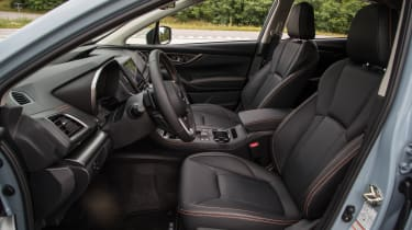 2018 Subaru XV - front seats