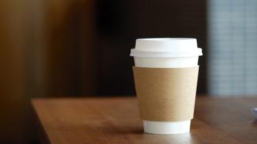 Motorway driving coffee