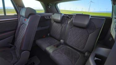 Skoda Kodiaq vRS - rear seats