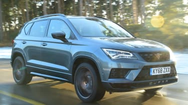 cupra ateca long-termer tracking front