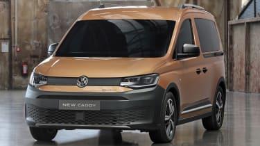2020 Volkswagen Caddy Pan Americana - front