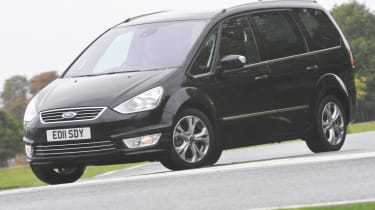 Ford Galaxy 1.6T front cornering