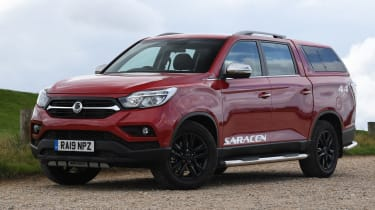 SsangYong Musso long term review - static