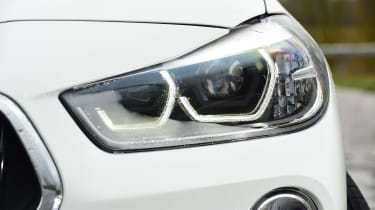 BMW X2 - front lights