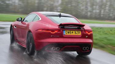 Jaguar F-Type R - rear