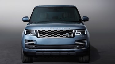 Updated Range Rover - full front static