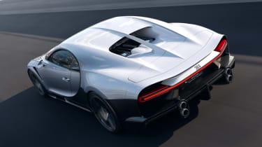Bugatti Chiron Super Sport - rear action
