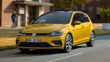 New 2017 Volkswagen Golf - front action