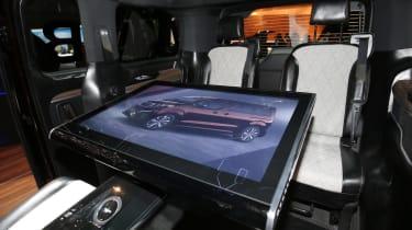 Peugeot Traveller i-Lab Concept - Geneva Stand Interior Screen