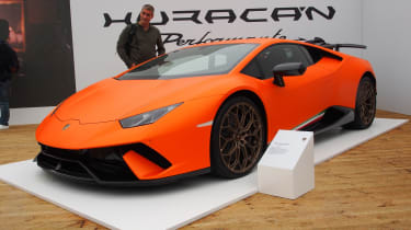 Lamborghini Huracan Performante - Goodwood front