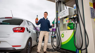 Whisky fuel feature - Martin fuel station