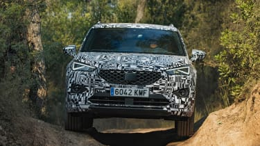 SEAT Tarraco prototype - full front