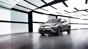 Toyota C-HR - front