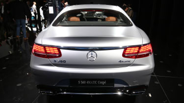 Mercedes S-Class Coupe - rear