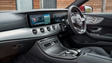 Mercedes E-Class Coupe - UK interior