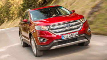 Ford Edge Titanium 2016 - front tracking