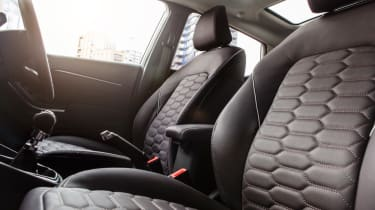 Ford Fiesta Vignale - interior leather