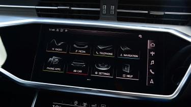 Audi S6 Avant - infotainment