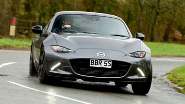 Mazda MX-5 BBR GTi Turbo - front cornering
