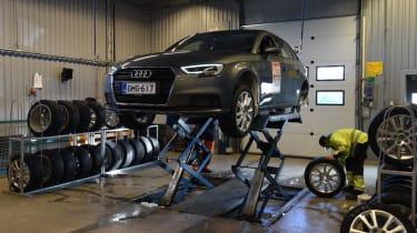 2017/18 winter tyre test - workshop