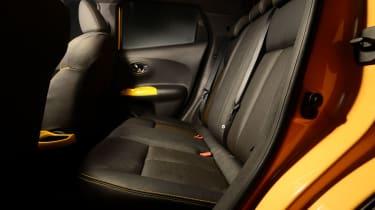 Nissan Juke 2014 rear seats
